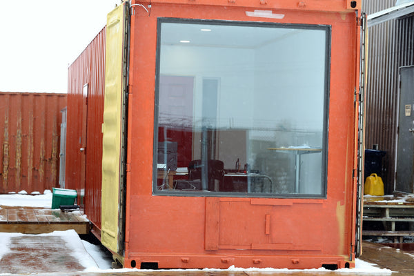 Shipping Container modified to office