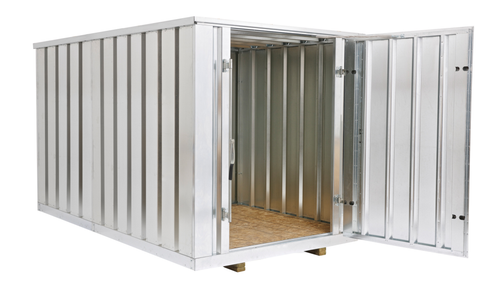 11ft Easy Storage Container Steel Storage Container 7 x 7 x 11