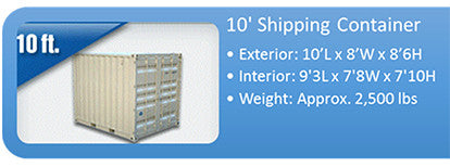 10ft Transport Container