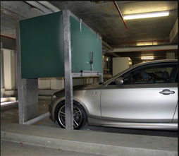 Parking Loft  Above car storage