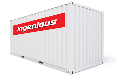 shipping container rental unit
