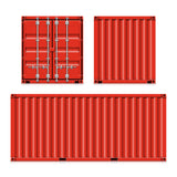 Double Doors on one end sea container