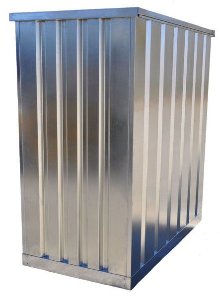 Galvanized Steel Half Container Outdoor Storage