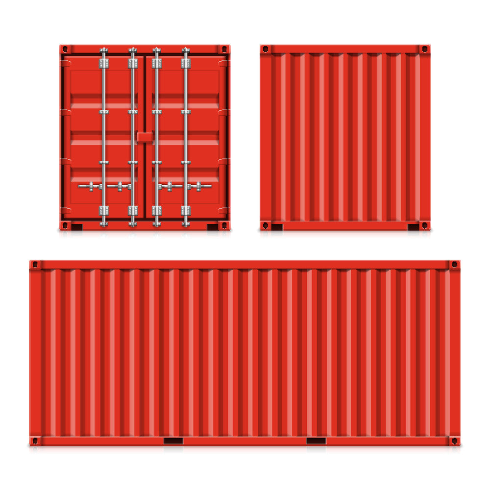 shipping container, transport container