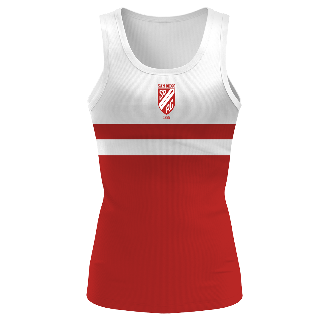 San Diego Rowing Club Women's Traditional Tank - Drytex