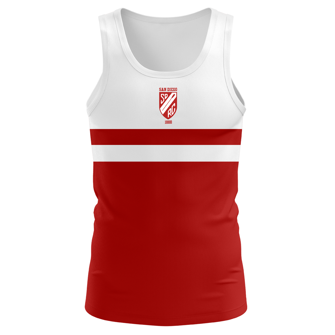 San Diego Rowing Club Men's Traditional Tank - Drytex