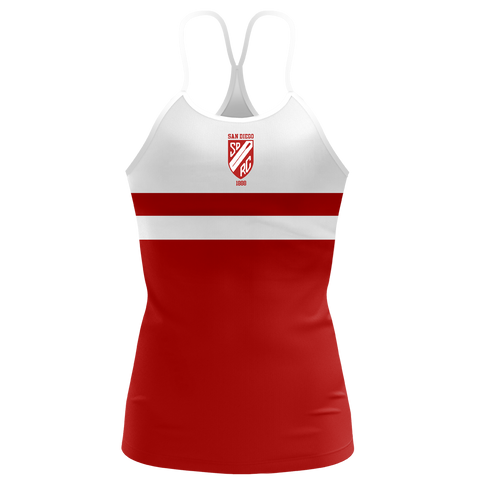 San Diego Rowing Club Women's Sassy Strap Tank