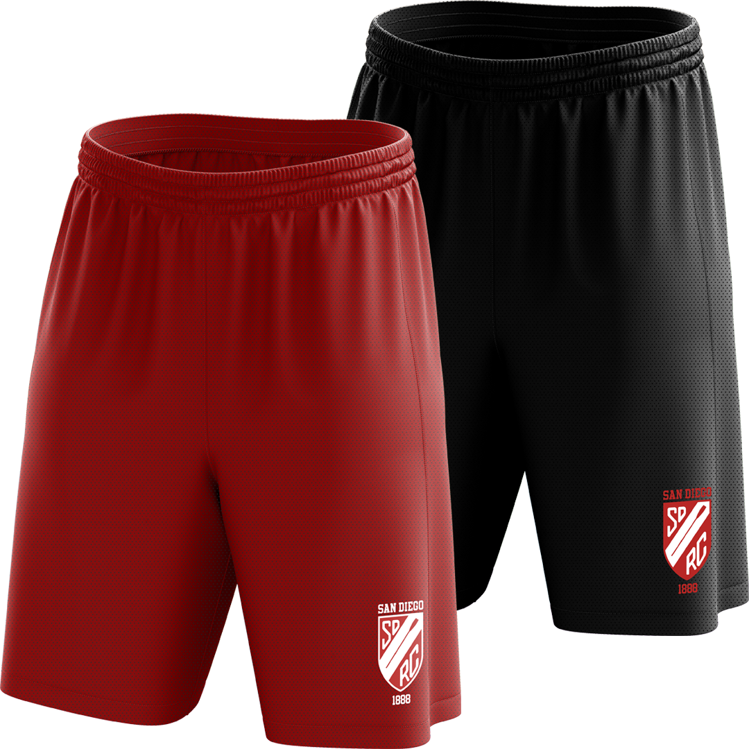 Custom San Diego Rowing Club Mesh Shorts