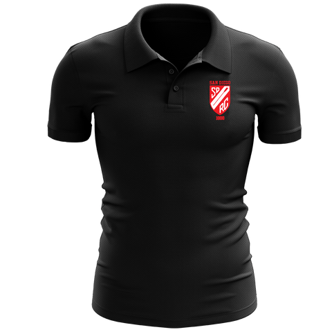 San Diego Rowing Club Embroidered Performance Men's Polo