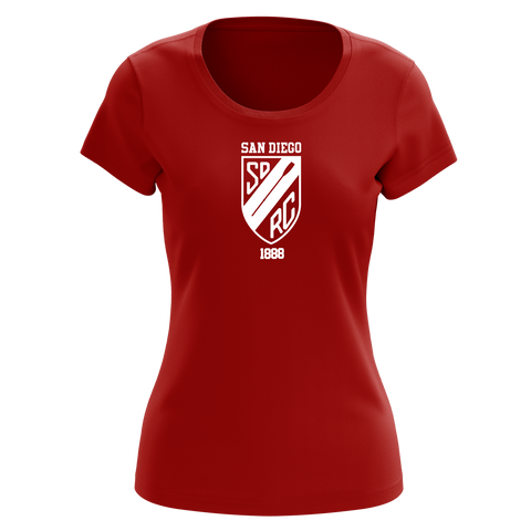 100% Cotton San Diego Rowing Club Women's Team Spirit T-Shirt