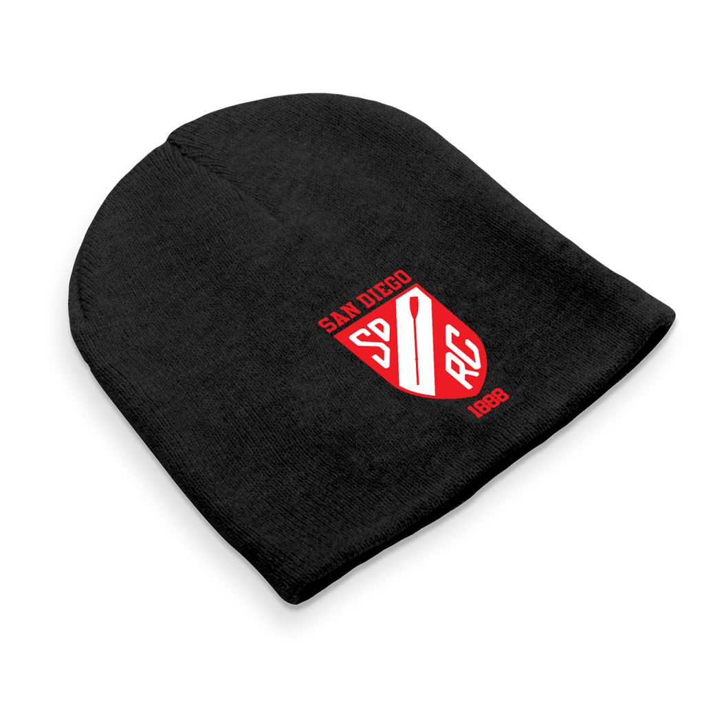 Straight Knit San Diego Rowing Club Juniors Beanie