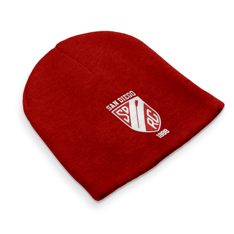 Straight Knit San Diego Rowing Club Beanie