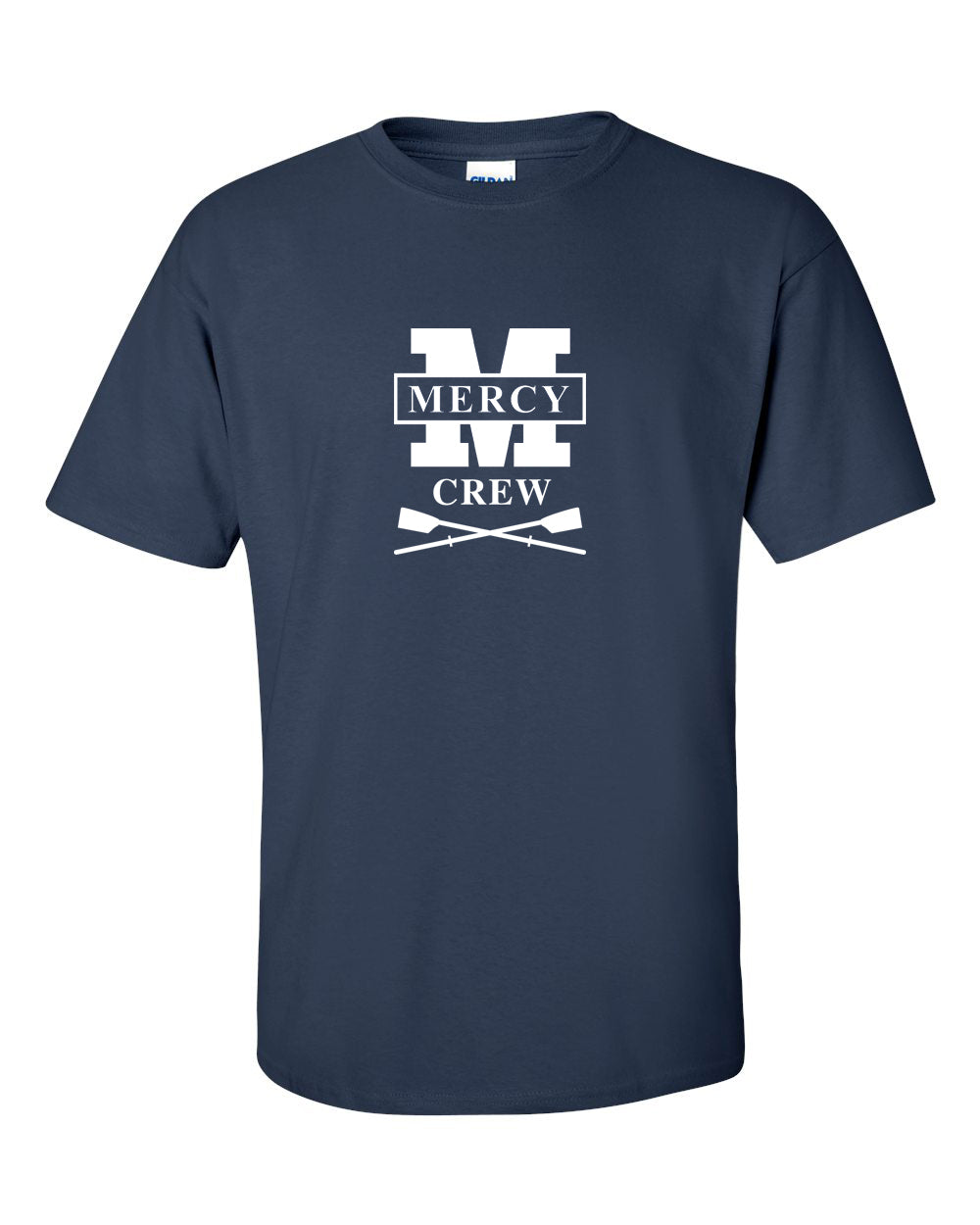 100% Cotton Mercy Crew Men's Team Spirit T-Shirt