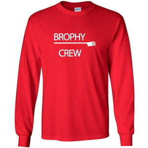 Custom Brophy Crew Long Sleeve Cotton T-Shirt