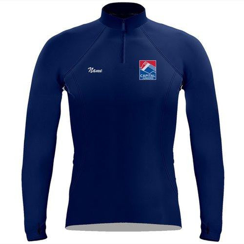 Capital Rowing Juniors Ladies Performance Thumbhole Pullover