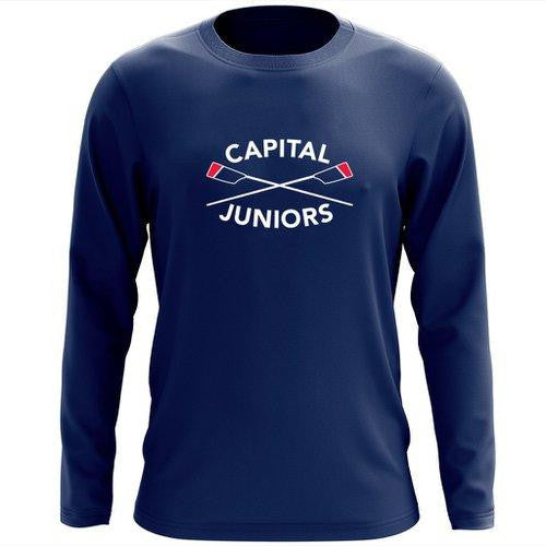 Capital Rowing Juniors Long Sleeve Cotton T-Shirt