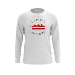 Custom Capital Rowing Juniors Long Sleeve Cotton T-Shirt