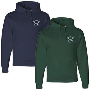 50/50 Hooded South County Crew Pullover Sweatshirt