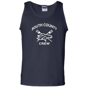 100% Cotton South County Crew Tank Top