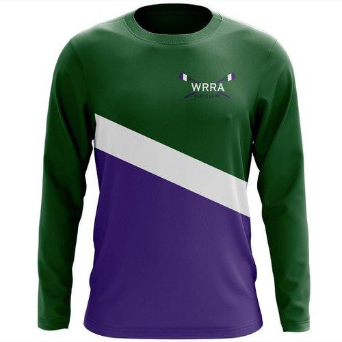Custom Western Reserve Rowing Association Long Sleeve Cotton T-Shirt