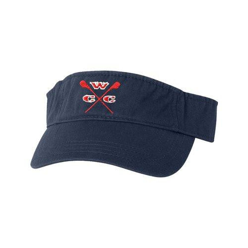 Wappingers Crew Club Cotton Twill Visor