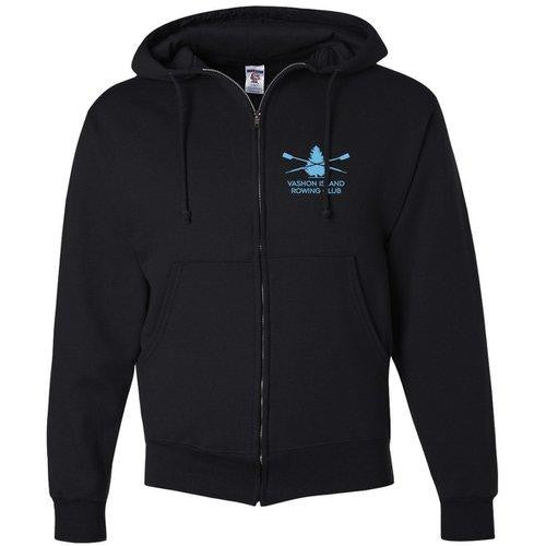 50/50 Full Zip Hooded Vashon Crew Sweatshirt
