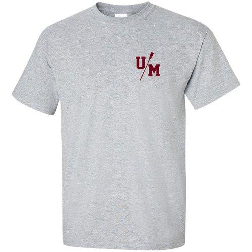 100% Cotton UMass Men's Rowing Men's Team Spirit T-Shirt