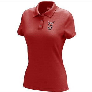 Elizabeth Seton HS Crew Embroidered Performance Ladies Polo
