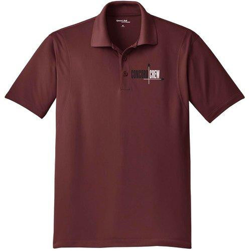 Friends of Concord Embroidered Performance Men's Polo