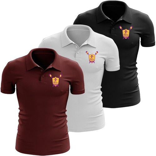 Gentle Giant Rowing Club Embroidered Performance Men's Polo