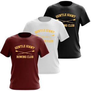 100% Cotton Gentle Giant Rowing Club Men's Team Spirit T-Shirt