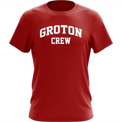 100% Cotton Groton Crew Men's Team Spirit T-Shirt