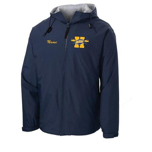 Official Hackensack Crew Team Spectator Jacket