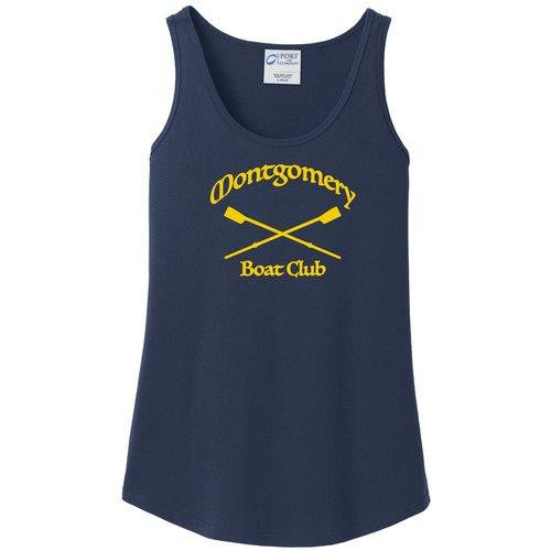 100% Cotton Ladies Montgomery Boat Club Tank Top