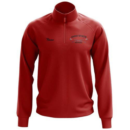 Ohio State Rowing Mens Performance Pullover