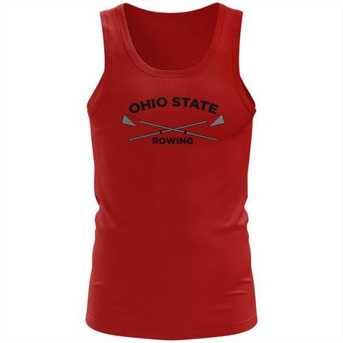 100% Cotton Ohio State Rowing Tank Top