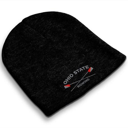 Straight Knit Ohio State Rowing Beanie