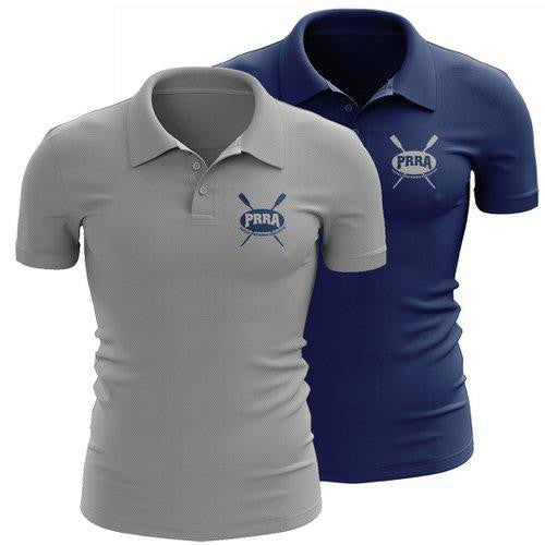 Passaic River Rowing Association Embroidered Performance Men's Polo