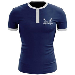 River City Rowing Club  Uniform Henley Shirt