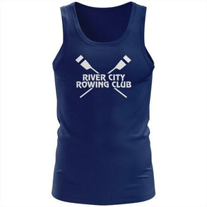 100% Cotton  River City Rowing Club  Tank Top