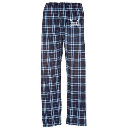 River City Rowing Club  Flannel Pants