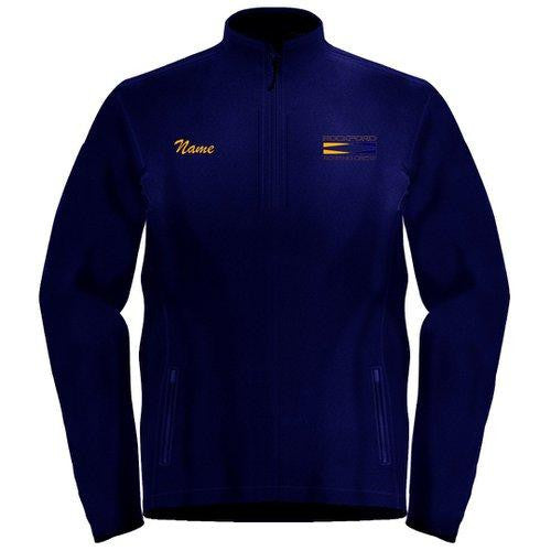 1/4 Zip Rockford YMCA Rowing Crew Fleece Pullover