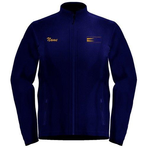 Full Zip Rockford YMCA Rowing Crew Fleece Pullover