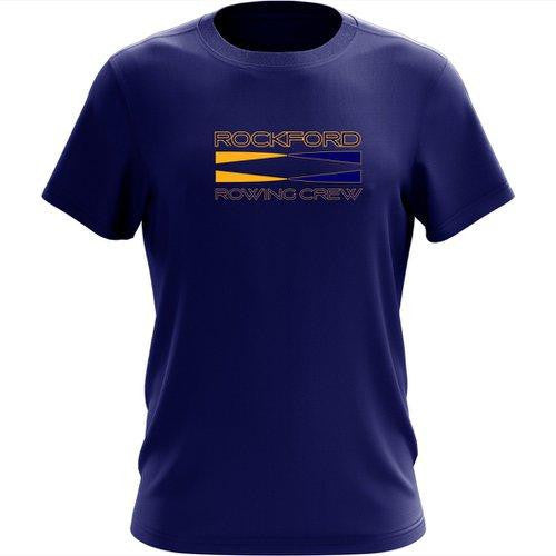 100% Cotton Rockford YMCA Rowing Crew Men's Team Spirit T-Shirt