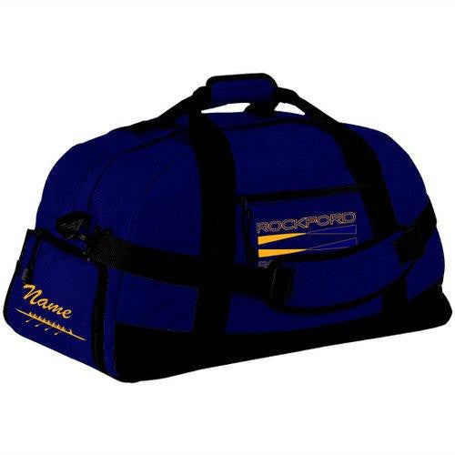 Rockford YMCA Rowing Crew Team Race Day Duffel Bag