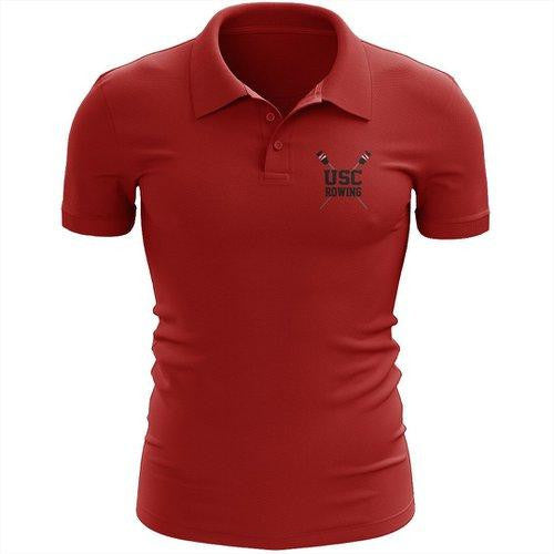 Upper St Clair Crew Embroidered Performance Men's Polo