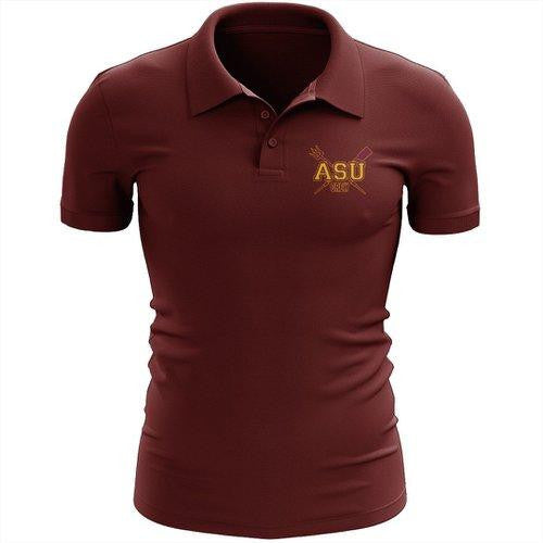 Arizona State Rowing Embroidered Performance Men's Polo