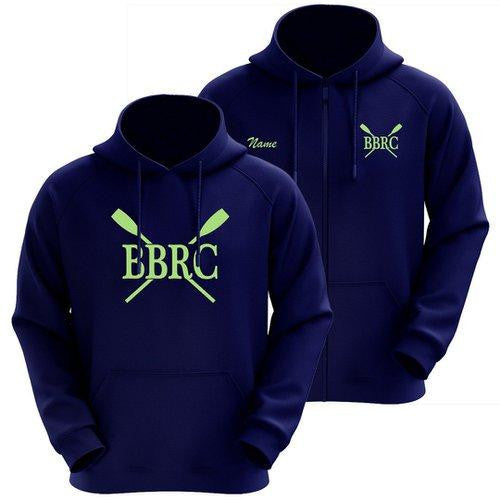 50/50 Hooded Buzzards Bay Rowing Club Pullover Sweatshirt