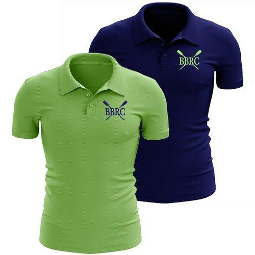 Buzzards Bay Rowing Club Embroidered Performance Men's Polo