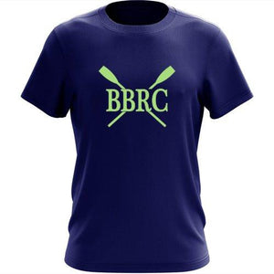 100% Cotton Buzzards Bay Rowing Club Men's Team Spirit T-Shirt